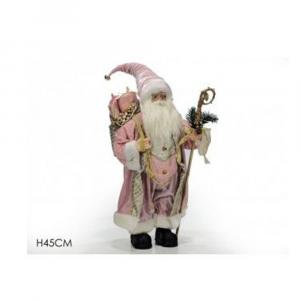 General Trade Babbo Natale 45 cm Rosa