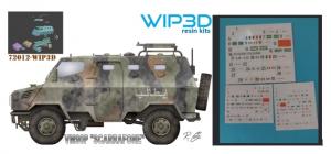 """VM90P """"SCARRAFONE""""  modello in resina, completo di decals."""