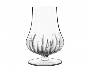 Calice basso vetro trasparente liquore spirito amari