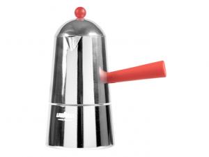 Caffettiera alluminio Carmencita 6tz rossa induzione