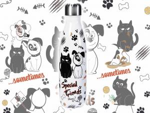 Bottiglia in Acciaio Special Friends