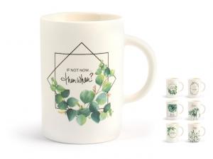 H&H Tazza mug botanico porcellana