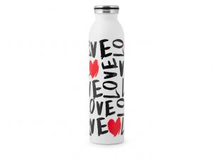 Bottiglia termica scritte Love amore 750ml 12ore caldo freddo