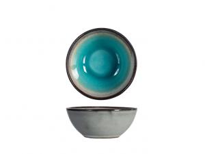 H&H Coppetta stoneware azzurro mare Teide salse