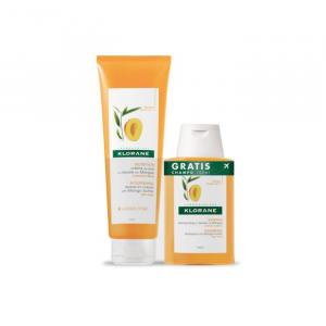 Klorane Balsam Mango 200ML + Shampoo Mango 100ML Set 2 Parti