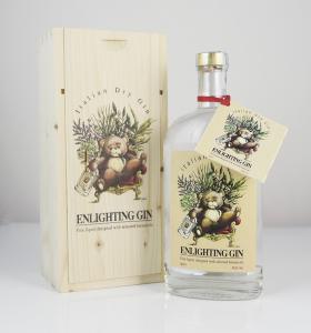 Enlighting Gin 500 ml  con scatola in legno