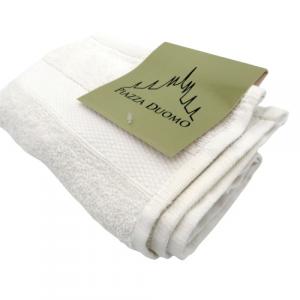 Asciugamano ospite cotone bianco 40x60