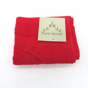 Asciugamano ospite cotone 40x60 rosso