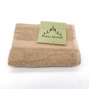 Asciugamano ospite cotone 40x60 tortora