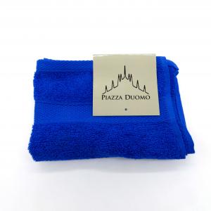 Asciugamano ospite cotone 40x60 blu