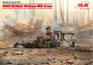 WWI British Vickers MG Crew