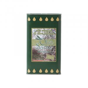 Olio vergine Ogliarola 1L 2019/20 - Olio vergine di oliva Pugliese cultivar Ogliarola Sante in Latta da 1 Litro - Terre di Ostuni