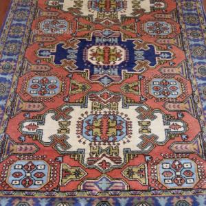 Tappeto 192x133cm Blu/azzurro/rosso/beige