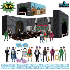 Deluxe Box Set Batman (1966) Action Figures: Serie Completa by Mezco Toys