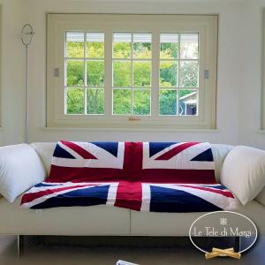 Plaid Bandiera inglese