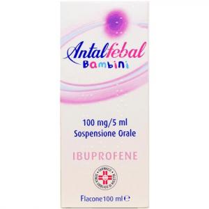 Antalfebal Bambini 100 mg/ 5 ml Sospensione Orale