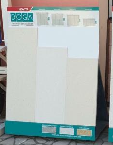 Rivestimento per zoccolatura levigato bianco 33,3x H100cm   prezzo al metro lineare