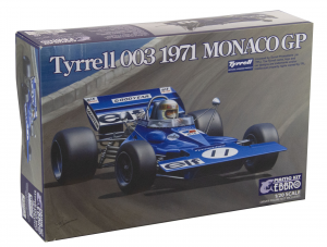 Kit Tyrrell 003 1971 Monaco GP 1/20