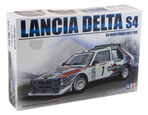 Kit Lancia Delta S4 1986 Monte Carlo Rally Version 1/24