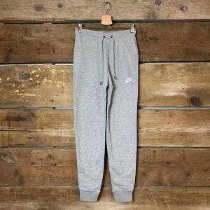 Pantalone Nike Sportswear Essential Grigio Chiaro