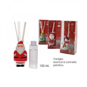 General Trade Profumo per Ambiente Con Decorazione Natalizia Fragranze Assortite 100ml