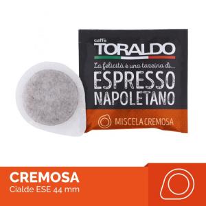 Caffè Toraldo miscela cremosa box 150 cialde ESE carta filtro compostabile