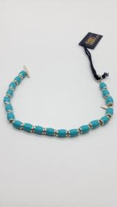 Bracciale DoDo Mariani con conchiglie smaltate azzurre, vendita on line | OREFICERIA BRUNI Imperia