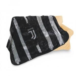 Plaid pile Juventus nero 120 x 150 cm