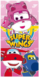 Telo mare Super Wings asciugamano