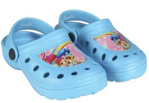 Shimmer and Shine Crocs Pantofole Bambina 22-23 Celeste