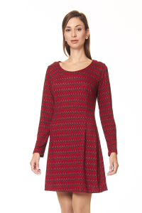 Abito corto rosso | abbigliamento donna on line