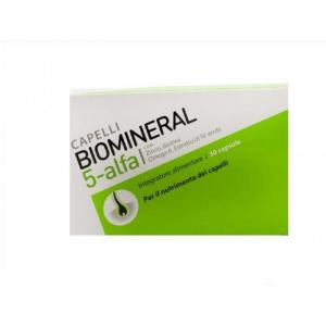 Biomineral 5 Alfa Integratore per Capelli 30 Capsule