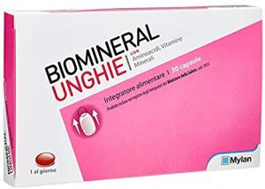 Biomineral Unghie Integratore 30 Capsule