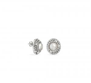 Orecchini Divina White Pearl
