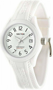 OROLOGIO SECTOR - STEEL TOUCH - BIANCO