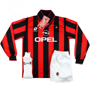 1994-95 Ac Milan Youth Kit Home Shirt *Brand New