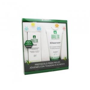 Endocare Biretix Tri-Active Gel Anti-Imperfections 50ml + Biretix Gel Cleansing Cleanser 150ml Set 2 Parti