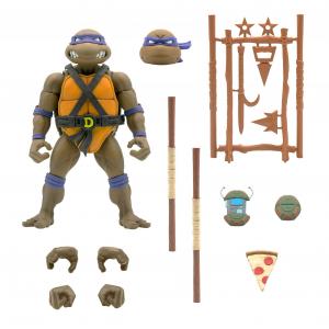 Teenage Mutant Ninja Turtles: Ultimates Action Figure Serie 4 DONATELLO by Super 7