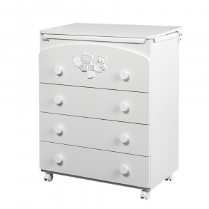 Chest of drawers for bedroom 4 drawers Amelie By Piccy