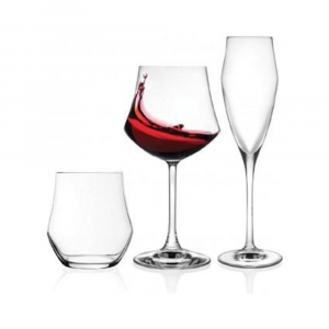 RCR Ego Confezione Set Bicchieri 18pz