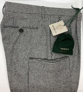 Pantalone maxi pied de poule Berwich