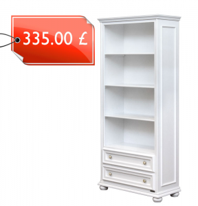 Open shelving bookcase with drawers - OFFER