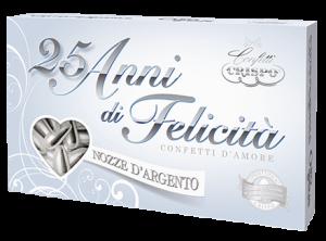 500 GR CONFETTI CRISPO NOZZE D'ARGENTO