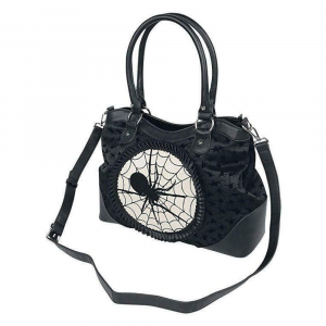 Banned Alternative Spinderella Spider Goth borsa