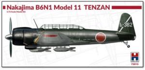 Nakajima B6N1 Model 11 Tenzan