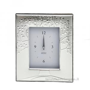 Orologio Albero della Vita in Argento 17x21 cm - Bomboniera matrimonio