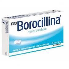 Neo Borocillina senza zucchero 16 pastiglie