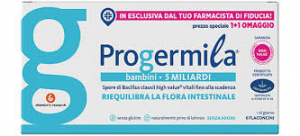 Progermila 5 miliardi fermenti Bambini 6 flaconcini