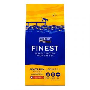 FISH4DOGS FINEST PESCE BIANCO E PATATE 6 KG