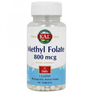 Kal Methyl Folate 800mcg 90 Comp